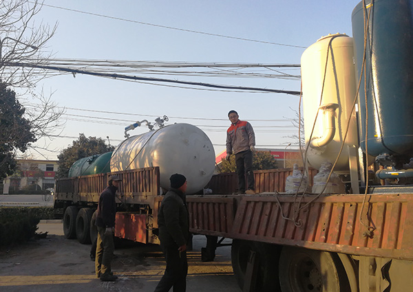 某大型石化企业设备发货中